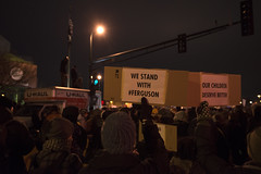 Solidarity rally for Michael Brown in response to the Ferguson grand jury decision