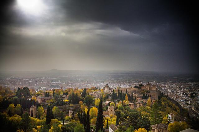 Paseico por Granada y el Llano de la Perdiz