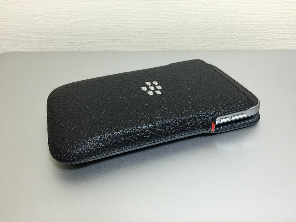 Leather Case of BlackBerry Classic