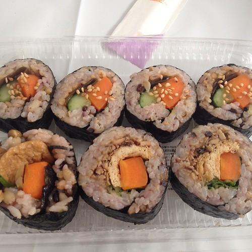 Tokyo Vege Food Festa 2014 - vegan sushi!