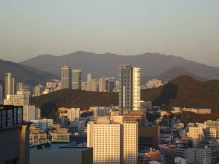 Busan 7 am, 3°C