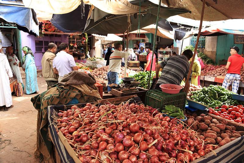 Sefrou market