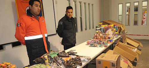 Protección Civil Municipal capacita sobre manejo de pirotecnia