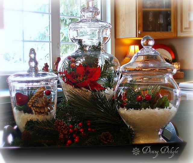 Kitchen Island Christmas Decor: Dining Delight: Christmas Decor Tip For The Kitchen