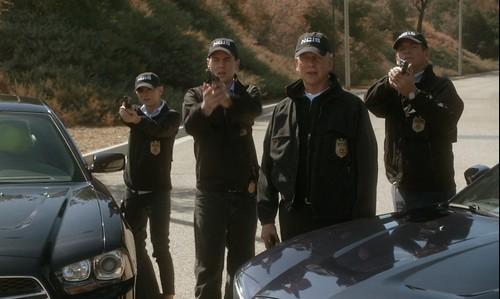 Bishop, McGee, Gibbs and DiNozzo