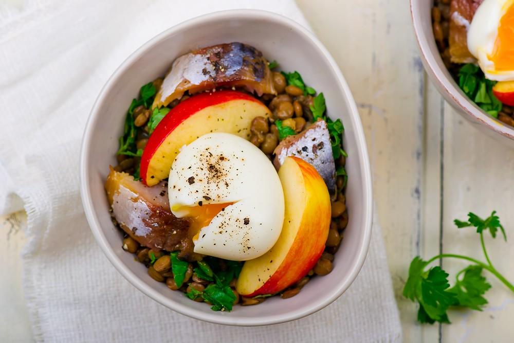lentil salad with