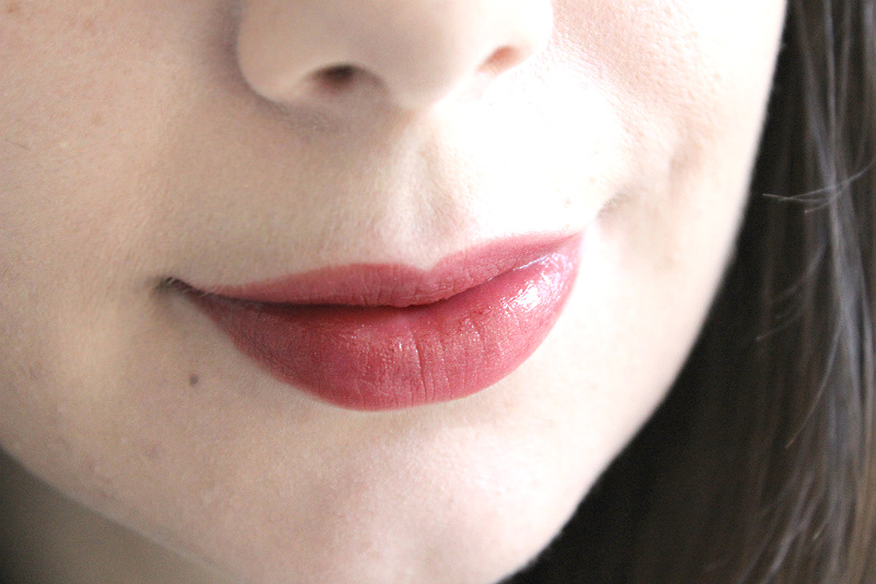 Lancome French Idole Look / Rouge Agate Sheer