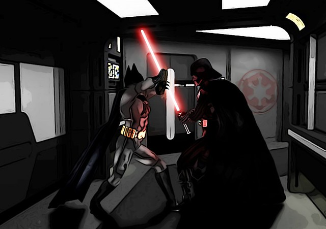 Batman VS Darth Vaderby Andr-uril