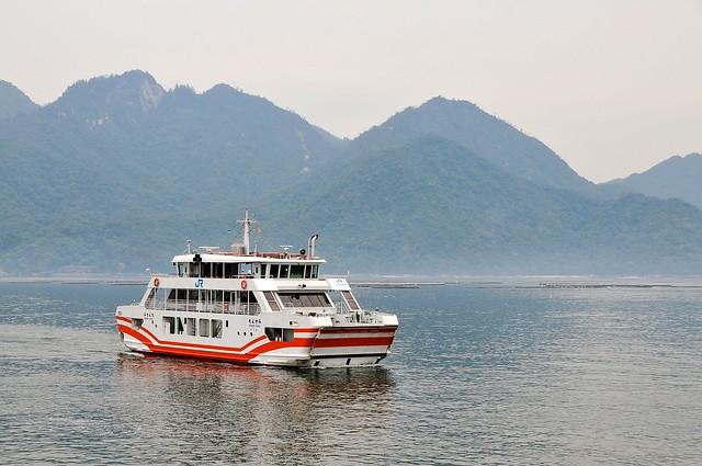 JR ferry to Miyajima