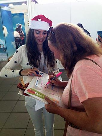 KLM Navidad en SCL (KLM)