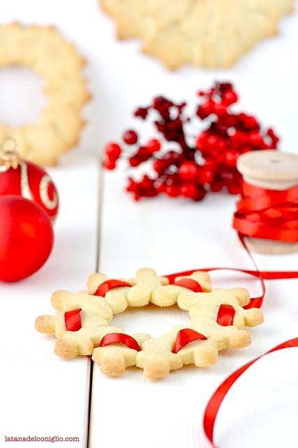 ghirlande di Natale con frollini vaniglia5