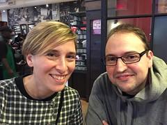 Andrea y Rubén de Barcelona