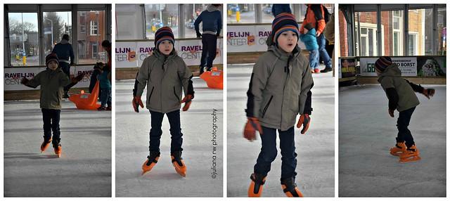 Jason skating