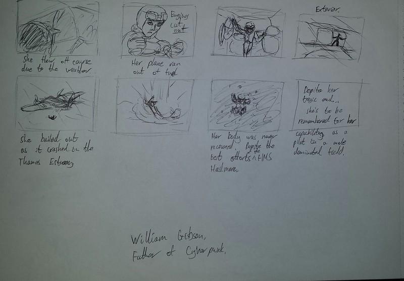 Amy storyboard