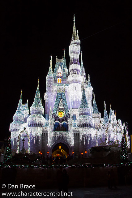 Christmas at Cinderella Castle