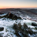 Stanage Edge sunrise by frosty140