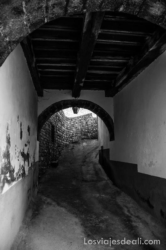 calles de Borau en la Jacetania