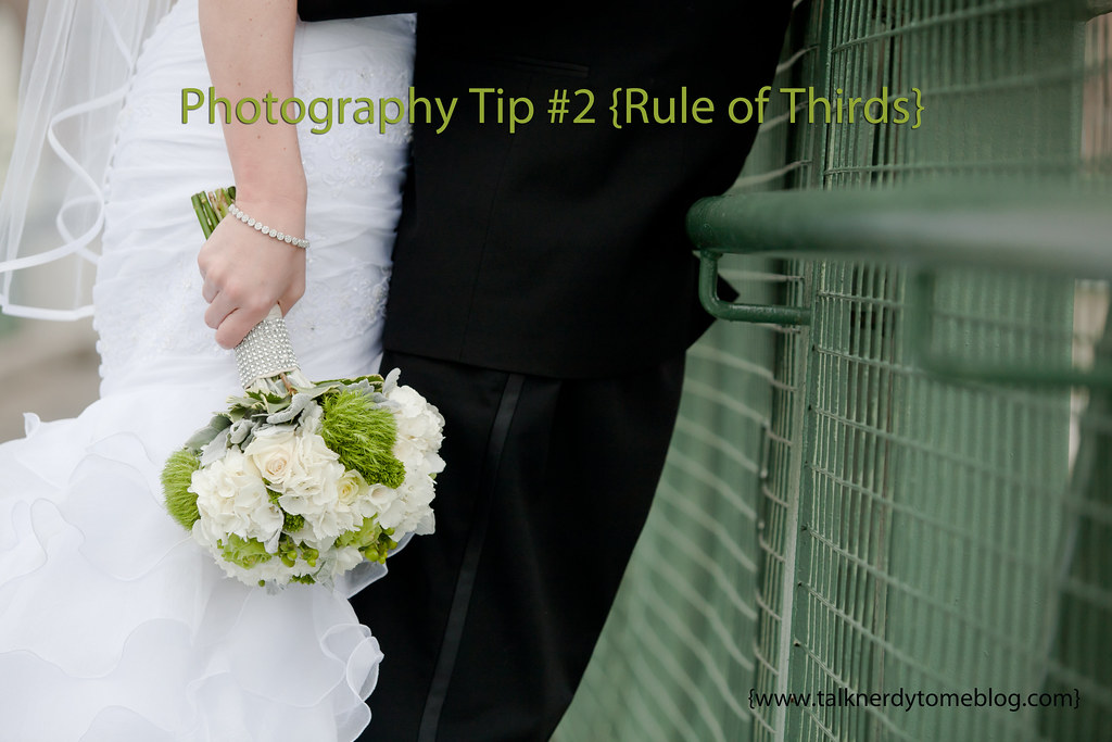 Simple way to take your photo one step up by following the rule of thirds!