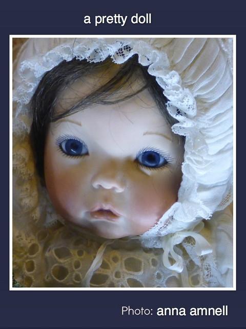 a pretty doll