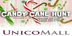 Unico Candy Cane hunt 2014