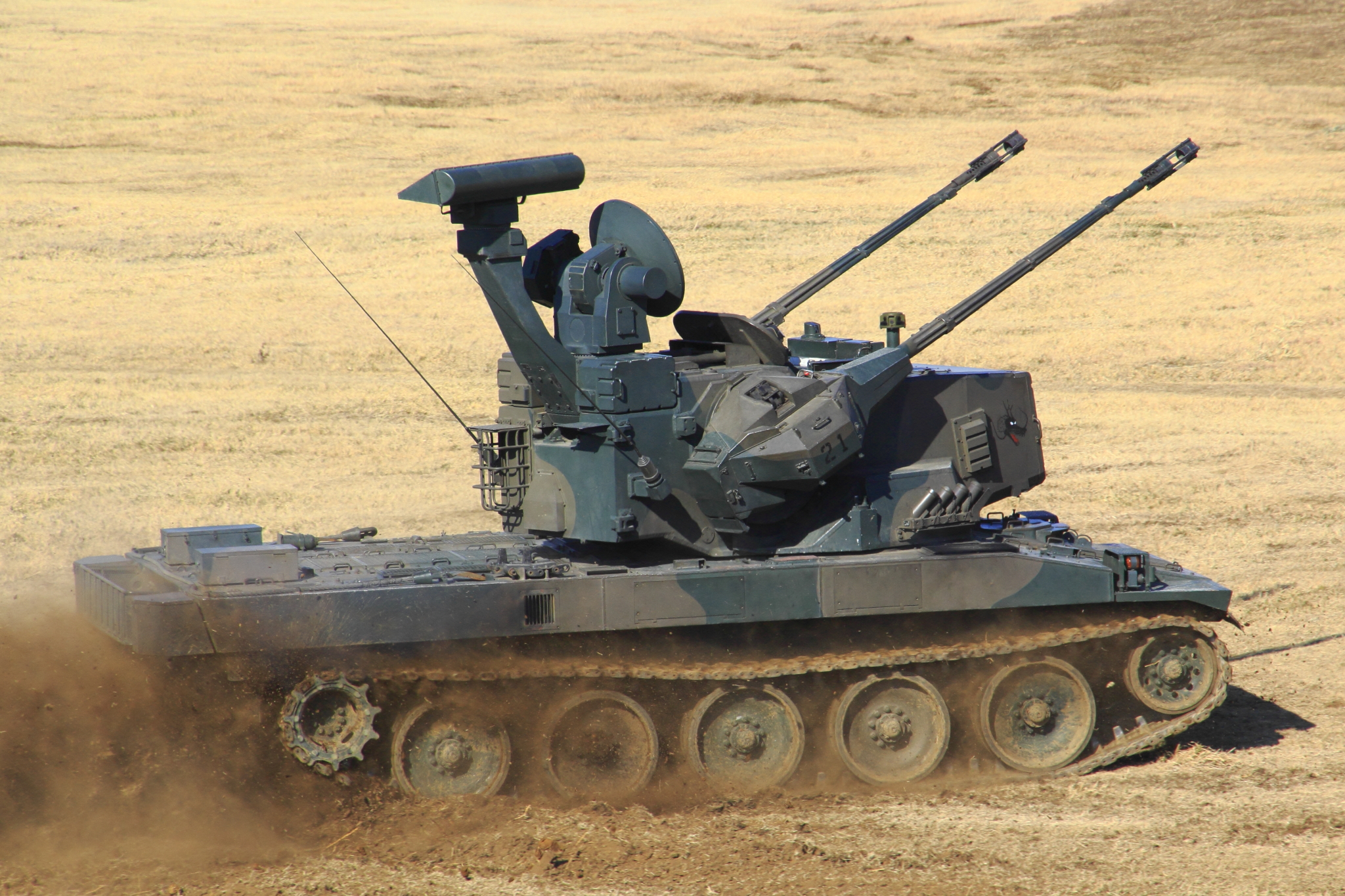 Japanese Type 87 SPAAG