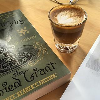 #dailycortado @dinosaur_coffee and a new book!