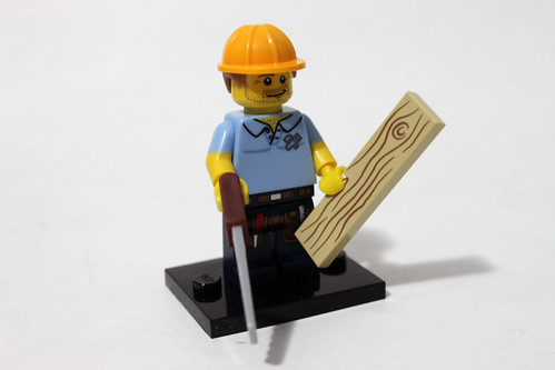 LEGO Collectible Minifigures Series 13 (71008) - Carpenter