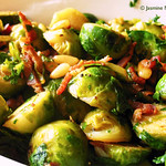 141225 Xmas Brussels Sprouts
