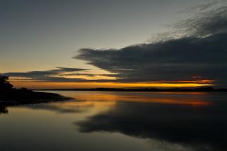 Sunset, Caernarfon