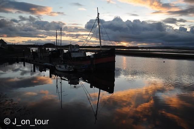 Harbourside sunset  GJC_016130