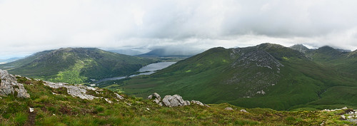county ireland panorama lake mountains galway clouds nationalpark lough sony hills connemara bens twelve kylemore countygalway twelvebens a700 connemaranationalpark loughkylemore dslra700