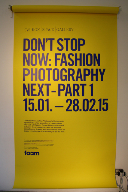 Don't Stop Now: Fashion Photography First Part 1