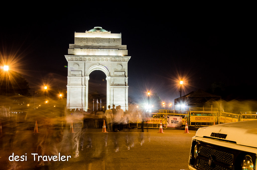 Protest India Gate