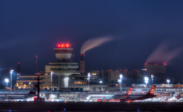 the tower from the airport Tegel Berlin