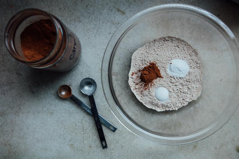 Bolo Integral de Cenoura com Creamcheese e Maple Syrup