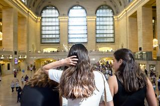Image of Grand Central Terminal near New York County. cc grandcentralterminal indoor manhattan midtown nyc women wwward0 newyork unitedstates us