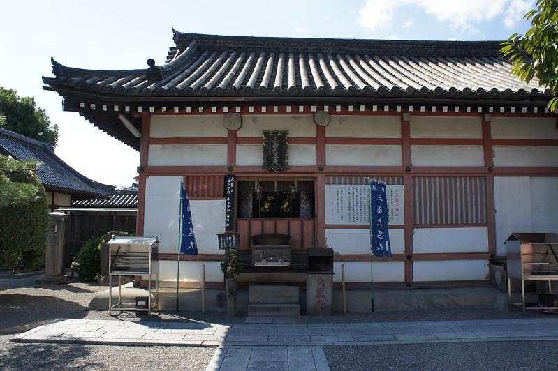 東寺 大黒堂(三面大黒天)