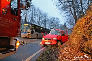 Tödlicher Verkehrsunfall B54 04.12.14