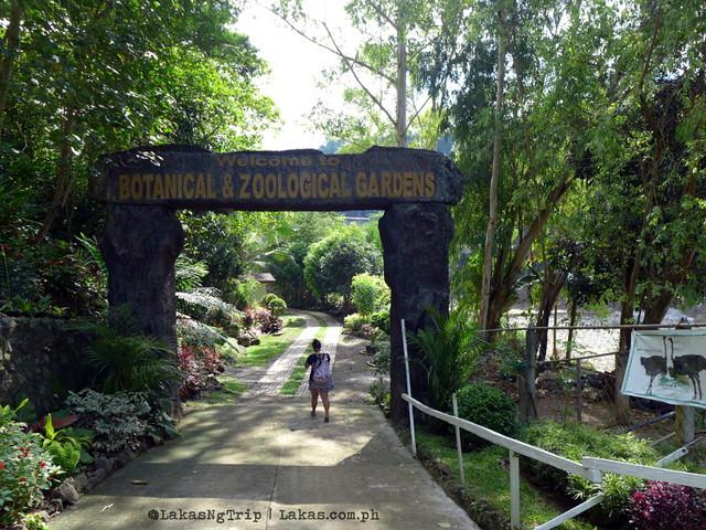 Botanical & Zoological Gardens. Maria Cristina Falls in Iligan City, Philippines