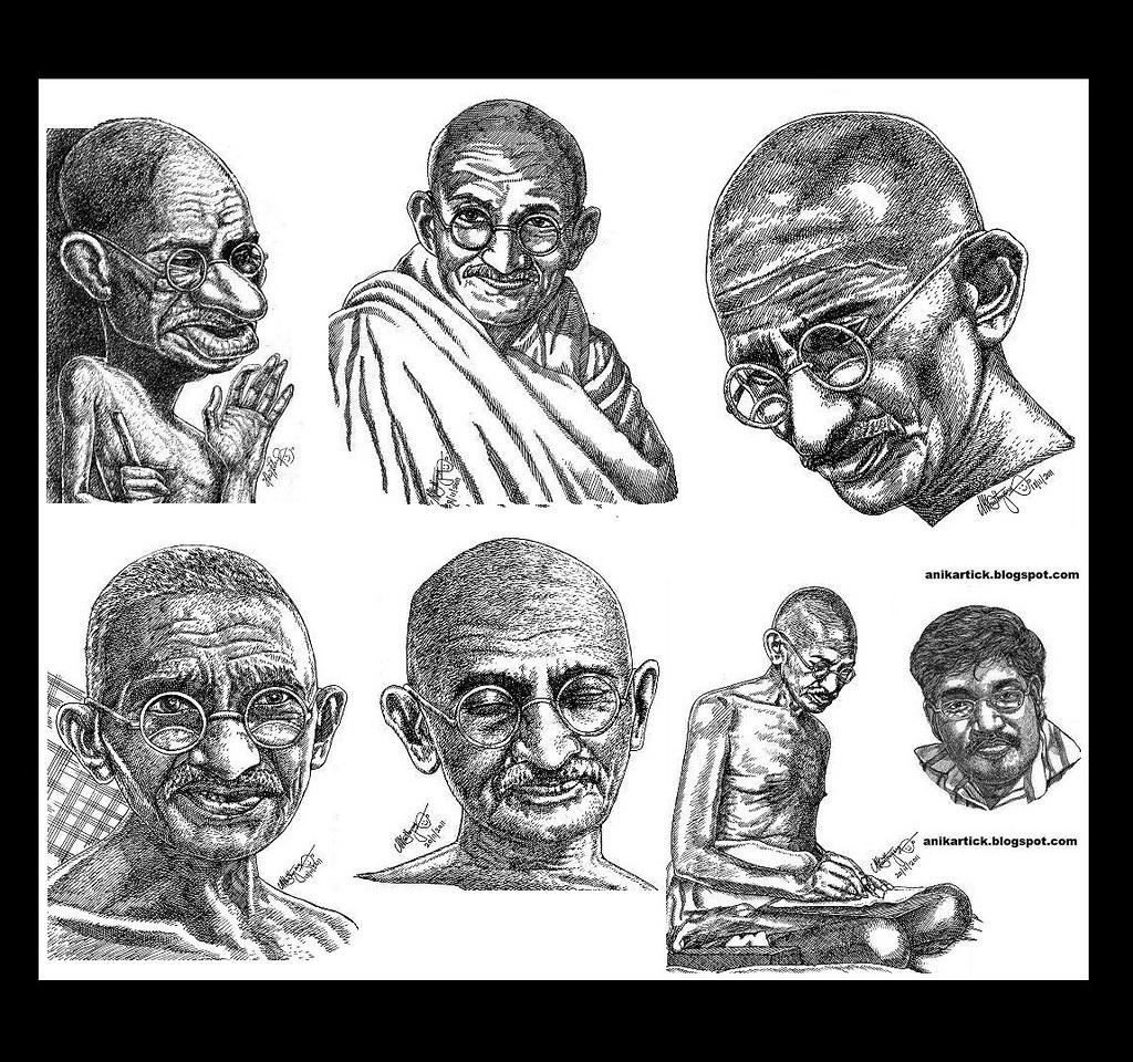 why is mahatma gandhi a hero