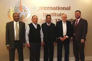 Prof Abdallah Saeed visits IIIT