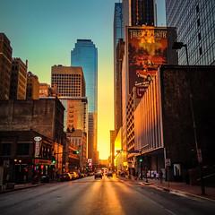 Elm Street Downtown Dallas