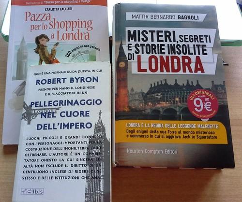 3 libri su Londra