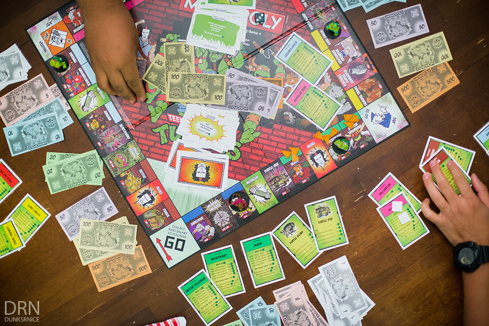 TMNT Monopoly.