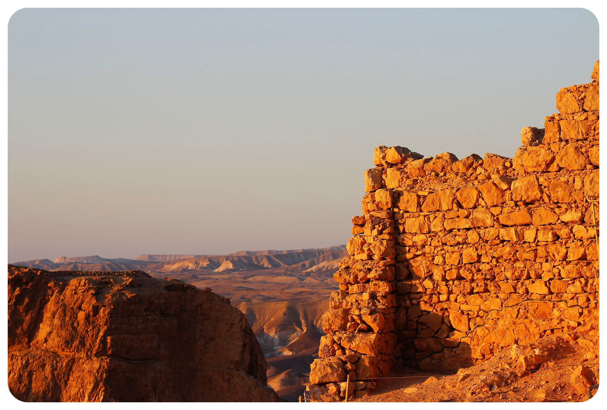 masada israel and judean desert