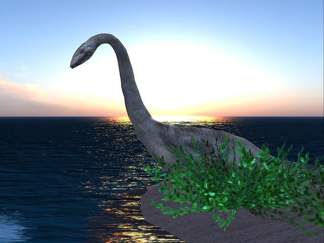 Mittandraland Mermaid Haven - Loch Ness Monster
