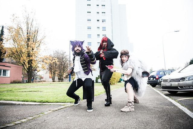 Cosplay-Trio