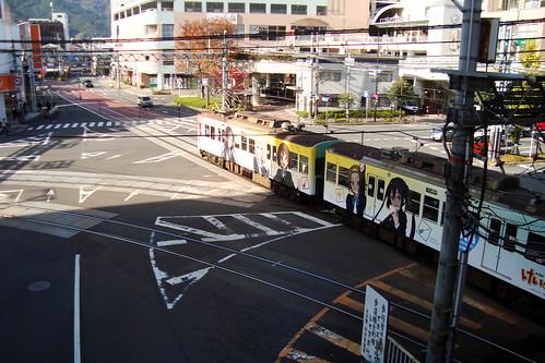 2014/11 京阪大津線 けいおん!5周年 HO-KAGO TEA TIME TRAIN #22