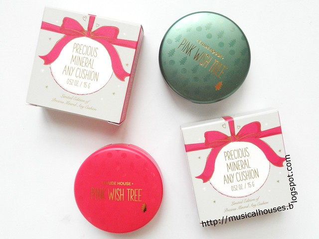 Etude House Pink Wish Tree Precious Mineral Anycushion Box