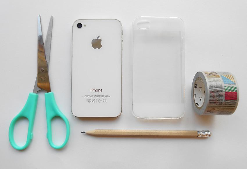 Diy washi tape phone case for Washi tape phone case
